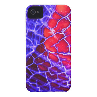 Red & Purple Cracked Quartz Crystal Case-Mate iPhone 4 Cases