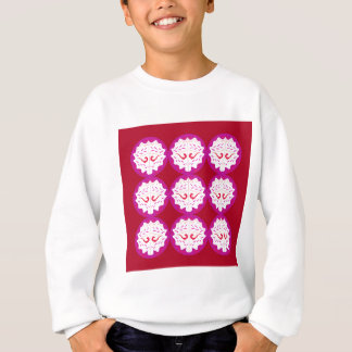 RED PURPLE ELEMENTS SWEATSHIRT