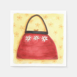 Red Purse - Paper Napkins