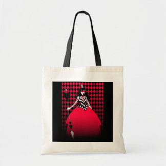 Red Queen of Hearts tote bag