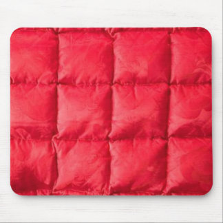 Red Quilt Cover Mousepad Design