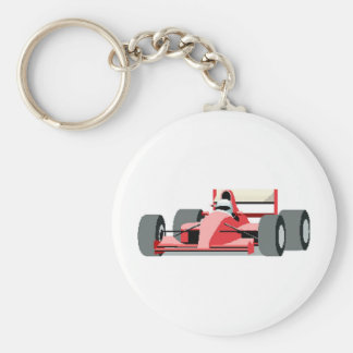 Red Race Car Key Chains