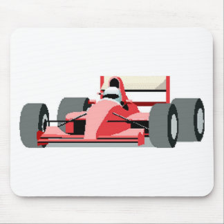 Red Race Car Mouse Pad