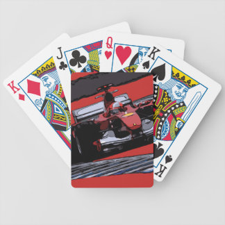 RED RACE CAR - PASSION BICYCLE PLAYING CARDS