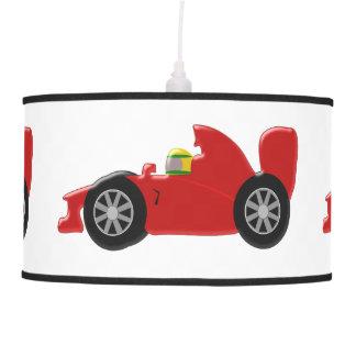 Red Racing Car Pendant Lamp