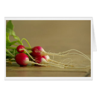 Red Radishes Card