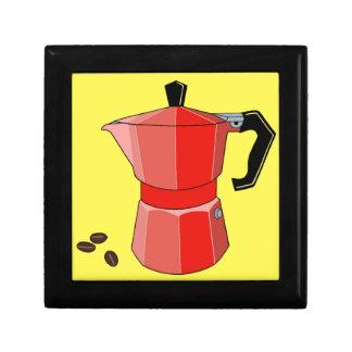 Red Rainbow Espresso Gift Box
