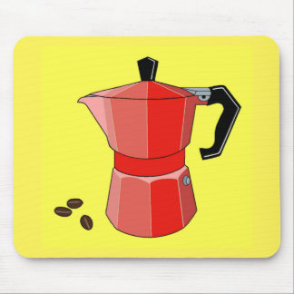 Red Rainbow Espresso Mouse Pad