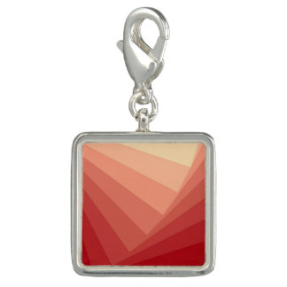 Red Rectangles in Gradient Charm