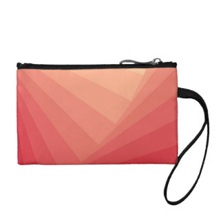 Red Rectangles in Gradient Coin Purse