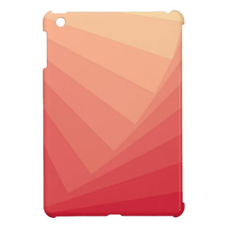 Red Rectangles in Gradient Cover For The iPad Mini