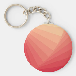 Red Rectangles in Gradient Keychain