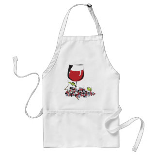 Red, Red Wine Standard Apron