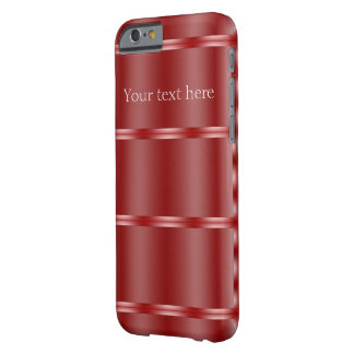 Red Reflection Personalized iPhone 6 Case Barely There iPhone 6 Case