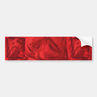 Red Reflections I Bumper Sticker