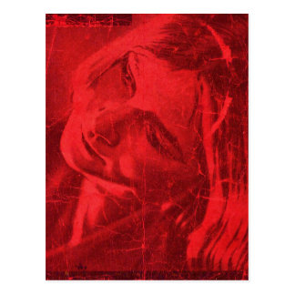 Red Reflections Postcard II - Customizable Postcards