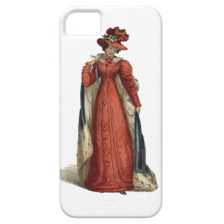 Red Regency Lady iPhone 5 Covers