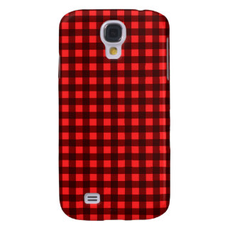 Red Retro Christmas Holiday Tartan Plaid