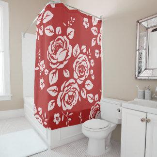Red_Retro_Floral(c) Bathroom_