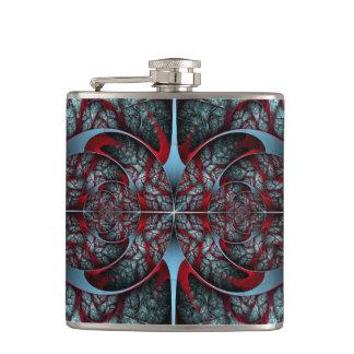 Red Revolver Flask
