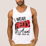 Red Ribbon Awareness - Aunt. Tank Tops