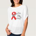 Red Ribbon Awareness For My Hero Shirts