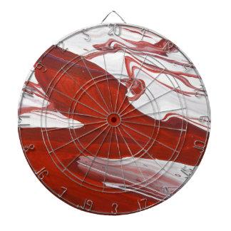 Red Ribbon Dartboard