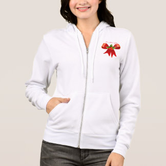 Red Ribbon Holly  Thunder_Cove Hoodie