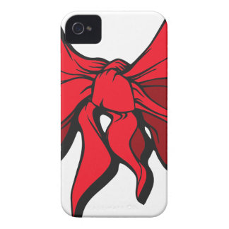 Red Ribbon iPhone 4 Covers