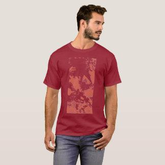 "Red ""Rider"" Stamped Shirt"