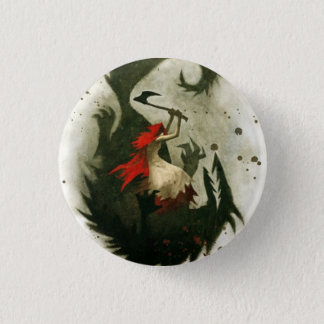red riding hood 1 inch round button