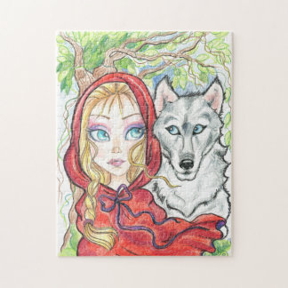 Red Riding Hood and The Wolf Puzzle
