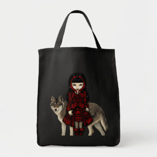 Red Riding Hood in Autumn wolf Bag