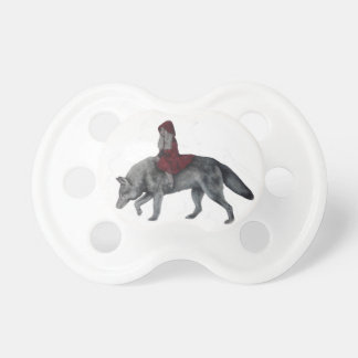Red riding hood pacifiers