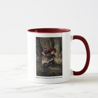 Red Riding Hood Picks Wild Flowrs Mug