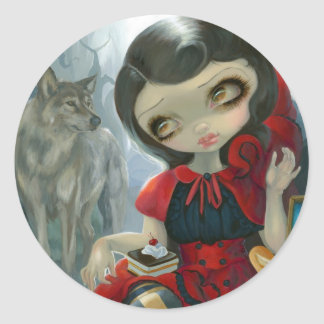"""Red Riding Hood's Picnic"" Sticker"