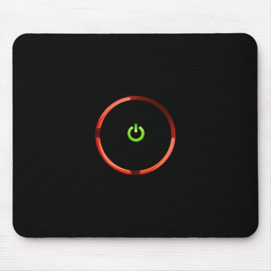 Red Ring Of Death Mouse Pad