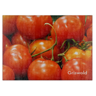 Red Ripe Tomatoes Cutting Boards