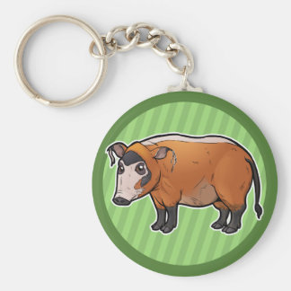 Red River Hog Keychain