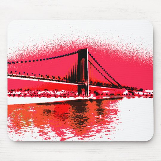 Red Rivers Bridge mousepad