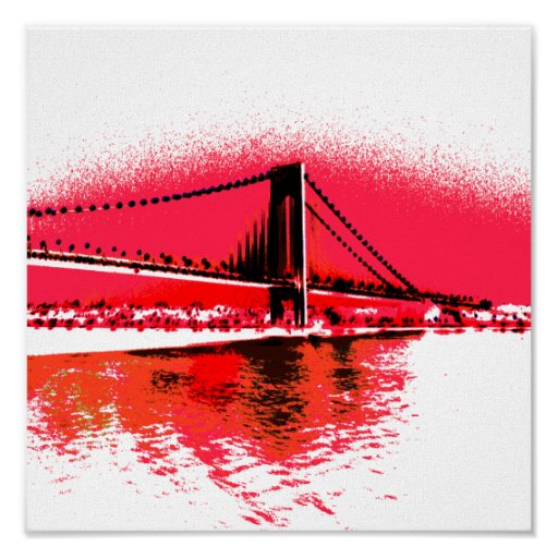 Red Rivers Bridge print