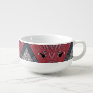 Red Road Urban Vibe Custom Soup Mug  - Yotigo