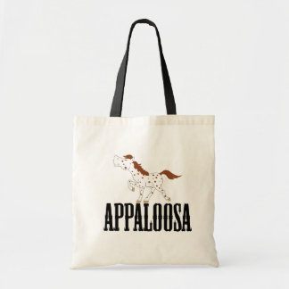 RED ROAN & WHITE Spotted APPALOOSA Horse Tote Bag
