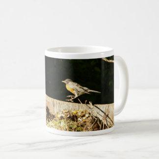 Red Robin Bobbin Coffee Mug