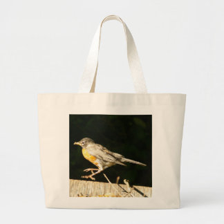 Red Robin Bobbin Large Tote Bag