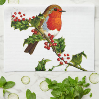 Red Robin kitchen towel