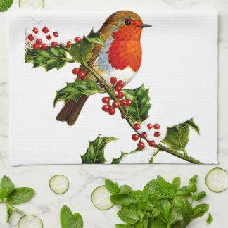 Red Robin kitchen towel