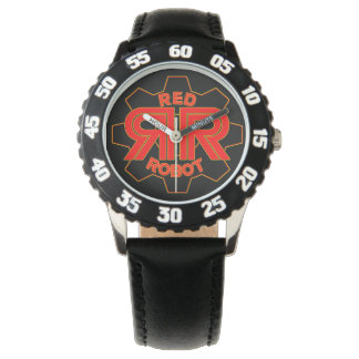 Red Robot Time Watch