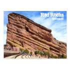 Red Rock Amphitheatre Postcard