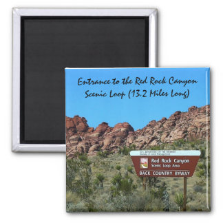 """Red Rock Canyon 2"""" Magnet"""